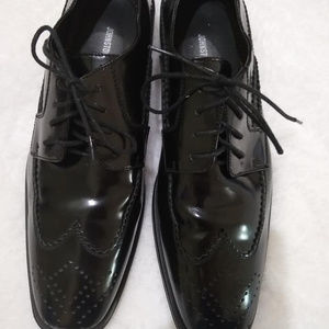 Johnston&Murphy  Leather Wingtip Shoes Dress